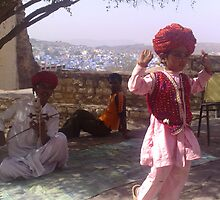 Traditional child folk dancer from rajasthan. by Rahul Sheth