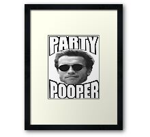 ARNIE THE POOPER Framed Print