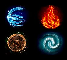 Avatar Four Elements  by KumaGenis