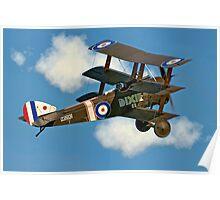 Sopwith Triplane N6290 B-BOCK Poster