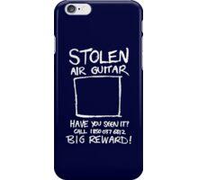 Stolen Air Guitar iPhone Case/Skin
