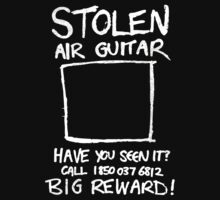 Stolen Air Guitar Kids Clothes