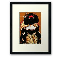 Geisha Girl Prints Framed Print