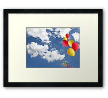 Floating Free Framed Print