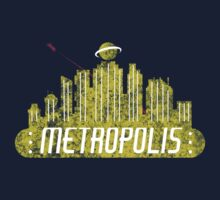 Metropolis (The Cities of Comics) by thatKONNORguy