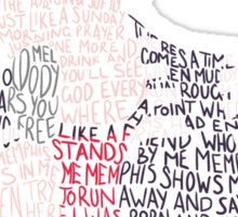 Memphis Lives In Me Sticker