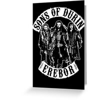 Sons of Durin Greeting Card
