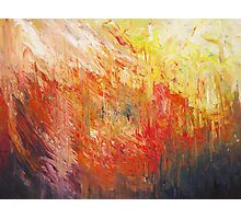 Flame Turbulence Photographic Print