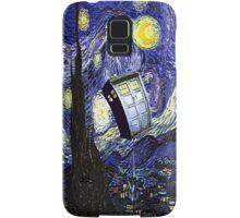 Starry Night Tardis Samsung Galaxy Case/Skin