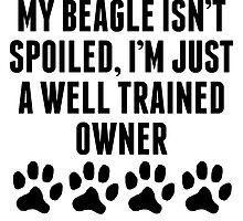 Well Trained Beagle Owner by kwg2200