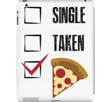how about pizza? iPad Case/Skin