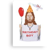 Jesus - Birthday Boy Canvas Print