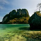 Phang Gna Bay Islands by Robert Mullner