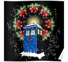 A WARM & COMFORTABLE TARDIS IN THGE SNOWSTORM  Poster