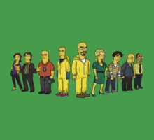 Breaking  Bad - Simpsons by Simpsonized