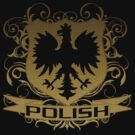 Polish Eagle Crest t shirt by iEric