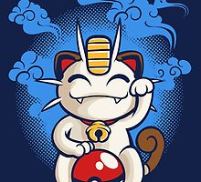 Lucky Meowth by rakimartinez