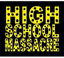 High School Massacre Photographic Print