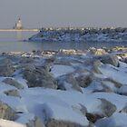 Snow Boulders by Ilene Clayton