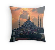 The Blue Mosque, Istanbul Throw Pillow