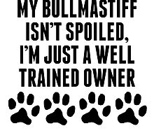 Well Trained Bullmastiff Owner by kwg2200