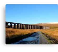 Ribblehead Viaduct and Whernside Canvas Print