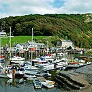 Axmouth Harbour, Seaton, Devon by Hertsman