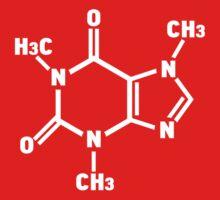 Caffeine Molecule by TeesBox
