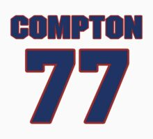 National football player Mike Compton jersey 77 by imsport