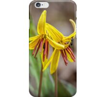 Dog-tooth violet II iPhone Case/Skin