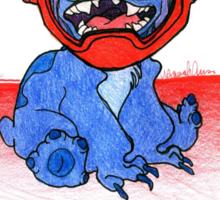 Stitch ft. Baymax Sticker