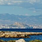 Shoreline of Alicante by Janone