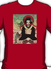 Geisha antique japan T-Shirt