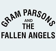 Gram Parsons and the Fallen Angels (distressed) by Magnus556