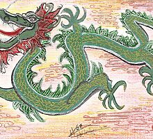 New Years Dragon  by Helen Valentino