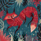Fox 2 by Karl James Mountford