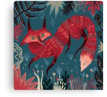 Fox 2 Canvas Print