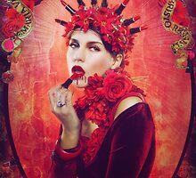 LIPSTICK MADONNA by jamari  lior