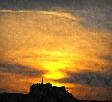 edinburgh castle by dale54