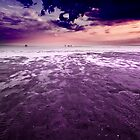 Purple twilight by Csaba Jekkel