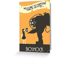 Bioshock: Rad  Greeting Card