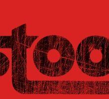The Stooges logo black (distressed) by Magnus556