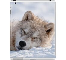 I lay my head down to sleep iPad Case/Skin