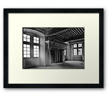 Atre - empty house Framed Print