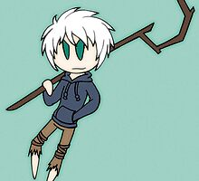 Chibi Jack Frost by ScribbleSketch