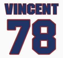National football player Ted Vincent jersey 78 by imsport