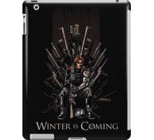 WinterS Coming iPad Case/Skin