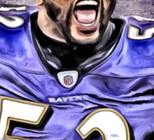 NFL Baltimore Ravens Legend Ray Lewis Sticker