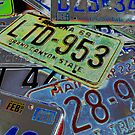 Abstract License Plates by tvlgoddess