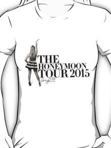 The Honeymoon Tour w/ Ariana (Shade White Only) T-Shirt